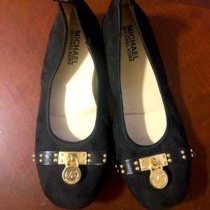 Michael Kors black dress shoes size 3 kids